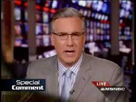 Keith Olbermann on George Bush's pardon of Scooter Libby