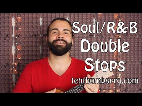 Motown Style Double Stops - Soul R&B Ukulele Tutorial