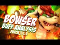 Bowser Analysis Post Patch 1.14 Buff - Smash Bros Wii U - ZeRo