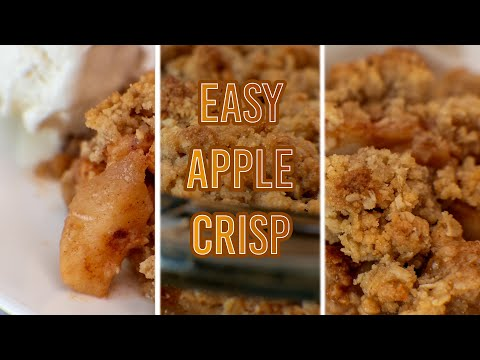 Easy & Delicious Apple Crisp Recipe