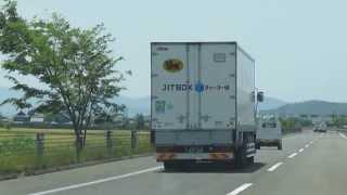 ヤマト運輸 ボックスチャーター便 仙台営業車 北陸道上り鯖江手前付近走行中