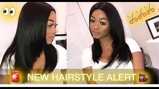 SUMMER HAIRSTYLE! NEW HAIR CUT Ft. Trendy Beauty Hair