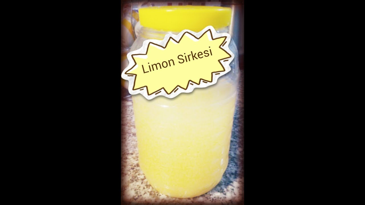 Limon Kabuğu Sirkesi Nasıl Yapılır