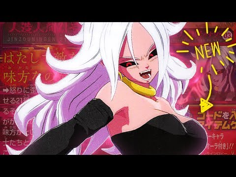 I DIDN'T ASK FOR THIS! NEW Official Majin Android 21 Gameplay SCANS! Dragon Ball FighterZ NEWS