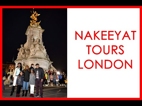 NAKEEYAT DRAMANI TOURS LONDON WITH THE DWUMFOUR CREW