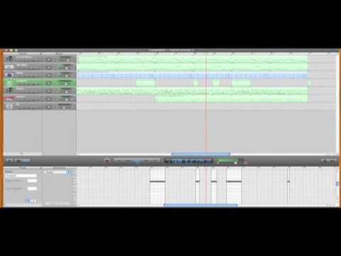 Garage Band- (Sample Song) Techno - YouTube