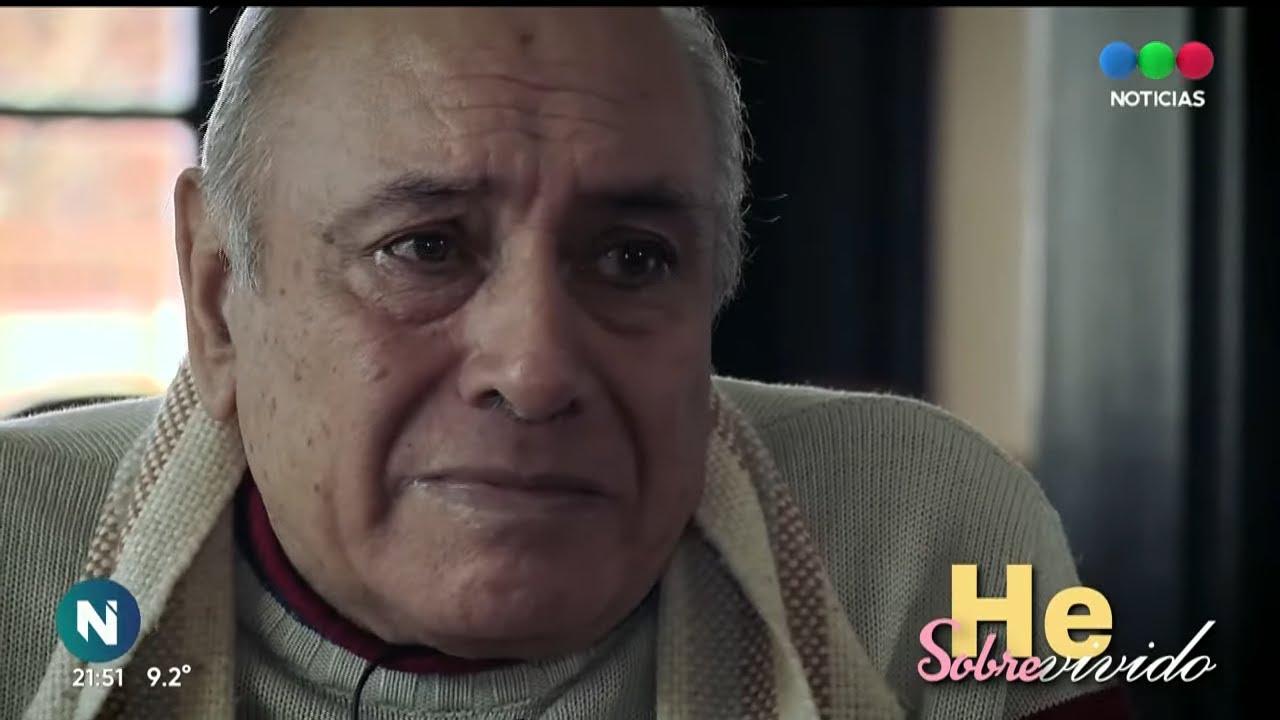 """La emotiva historia de Gustavo: """"Tuve miedo de no volver a ver a mi familia"""" - #HeSobrevivido"""