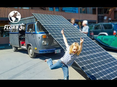 Thumbnail: This is a Fully Solar Powered Electric VW Bus