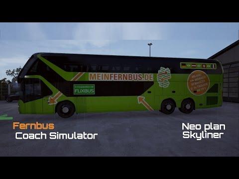 Fernbus Simulator | Day 2 |Neoplan Skyliner | to Frankfurt Airport