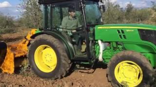 John Deere 5100 GF Farm Tractor 100hp - 200hp For Sale at RentAZ.ro