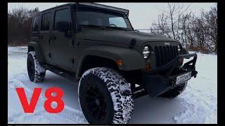 Jeep Wrangler Rubicon V8 SWAP