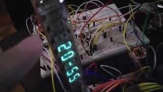 Часы на индикаторе ИВ-18 и Arduino