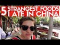 WEIRD FOOD I ATE IN CHINA