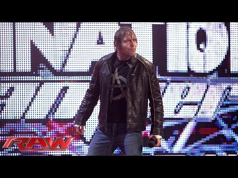 The Authority spells it out for Dean Ambrose: Raw, May 25, 2015
