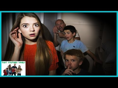 Who Is It? Escaping Strange Mystery Spy / That YouTub3 Family I Family Channel thumbnail
