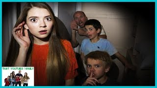 Who Is It? Escaping Strange Mystery Spy / That YouTub3 Family I Family Channel