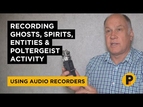 How To Record Ghosts Using Audio Recorders On Ghost Adventures