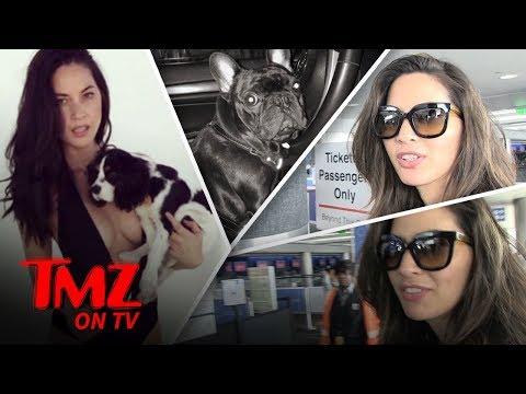 Olivia Munn: I'LL NEVER FLY UNITED... Nobody Should!!! | TMZ TV