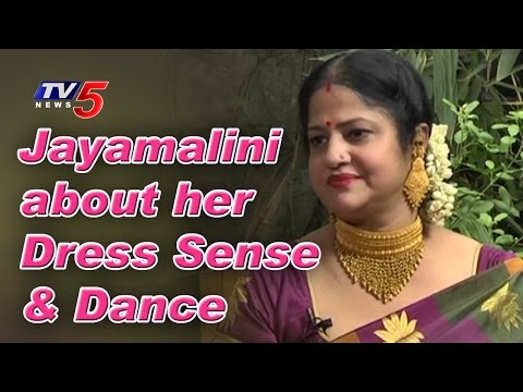 Jayamalini about Her Dress Sense & Dance in Films | Jayamalini Interview | TV5 News thumbnail