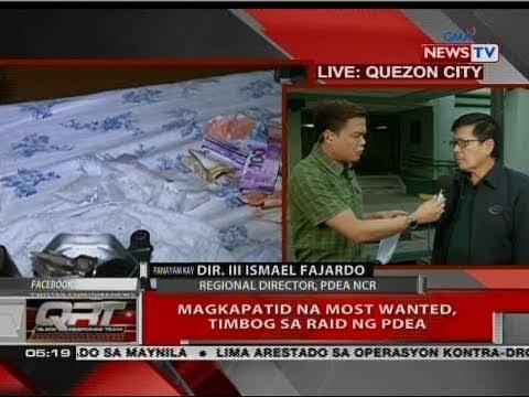 QRT: Panayam kay Dir. III Ismael Fajardo, regional director, PDEA NCR