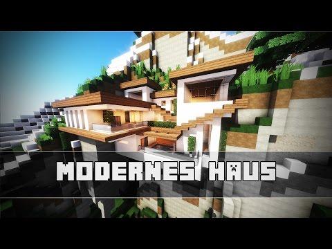 Modernes Haus Im Berg | Minecraft Tutorial