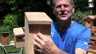Build the Easiest  and Simplest Bird House Ever!!!!