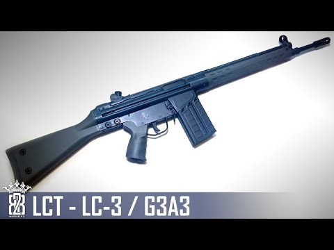 *Airsoft Review * LCT LC-3 /G3A3 | English Subtitles - Deutsch