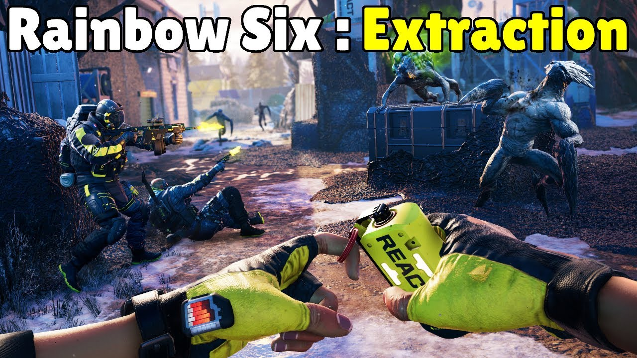 Download *NEW* Rainbow Six Extraction FIRST Official Gameplay Reveal