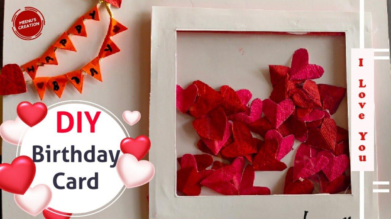 Diy Birthday Card Handmade Birthday Card Ideas Bday Surprise For Boyfriend Lockdown Gift Ideas Youtube