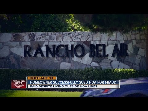 HOA HALL OF SHAME: Homeowner sues Rancho Bel Air