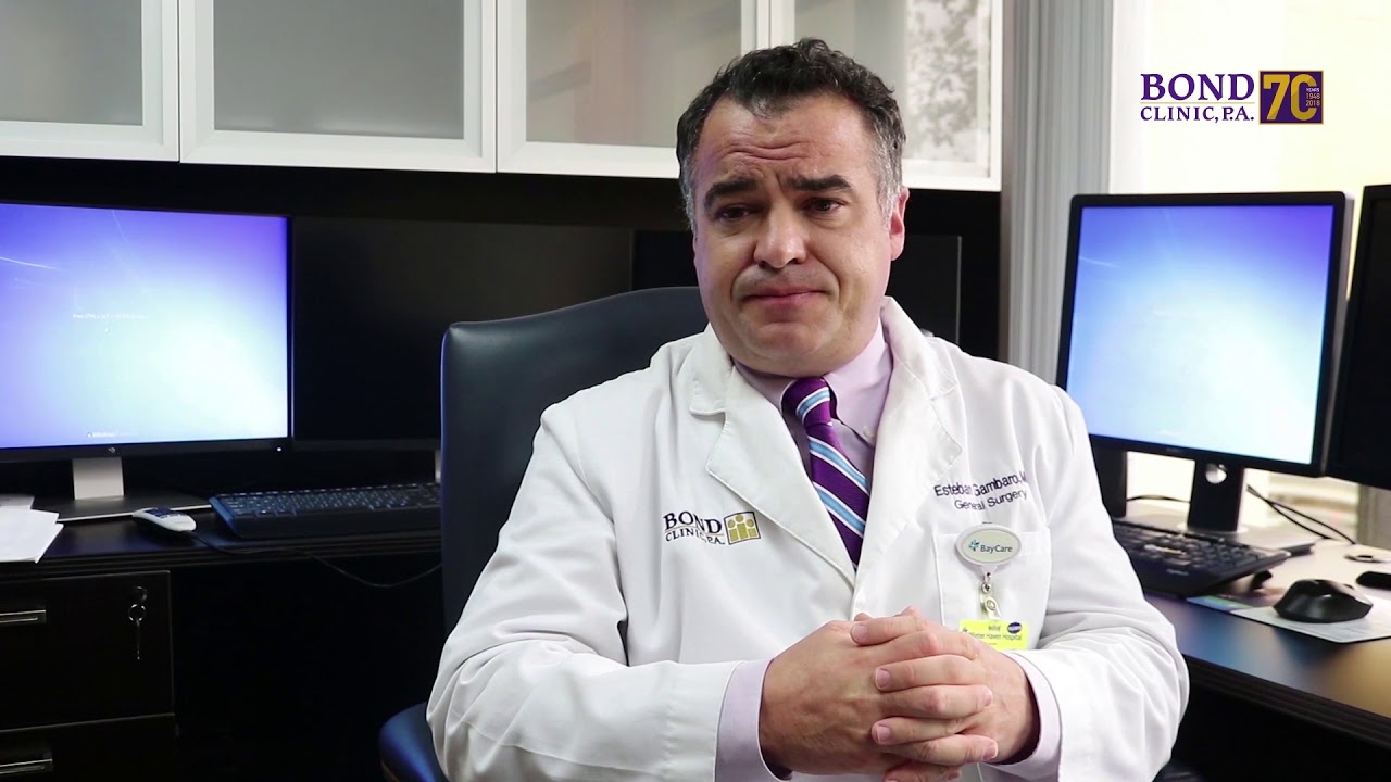 General Surgeon - Esteban Gambaro, MD - Bond Clinic, PA Bond Clinic