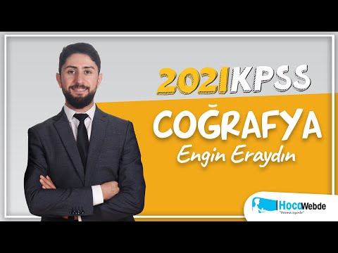 26) Engin ERAYDIN 2021 KPSS COĞRAFYA KONU ANLATIMI (TÜRKİYE'DE NÜFUS, YERLEŞME V
