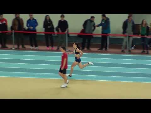 İstanbul U18 Taf Turkcell Salon Yıldızlar Türkiye Şampiyonası 400 metre kızlar 8.seri