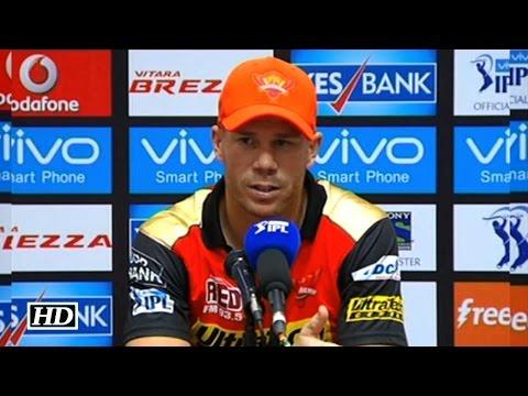 IPL 9 KXIP vs SRH: Warner Credits Bowlers For Thrashing Punjab