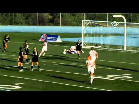 Kelly Miller of Cor Jesu Academy scores a goal in the MSHSAA girls class 3 championship