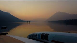 SUP in Lake Wenatchee