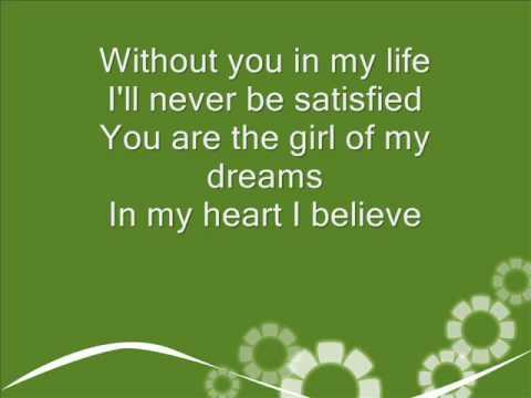 The moffats  Girl of my dreams Lyrics