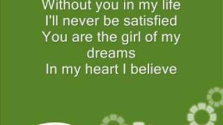 The moffats - Girl of my dreams -Lyrics