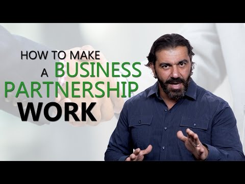 How To Make A Business Partnership Work
