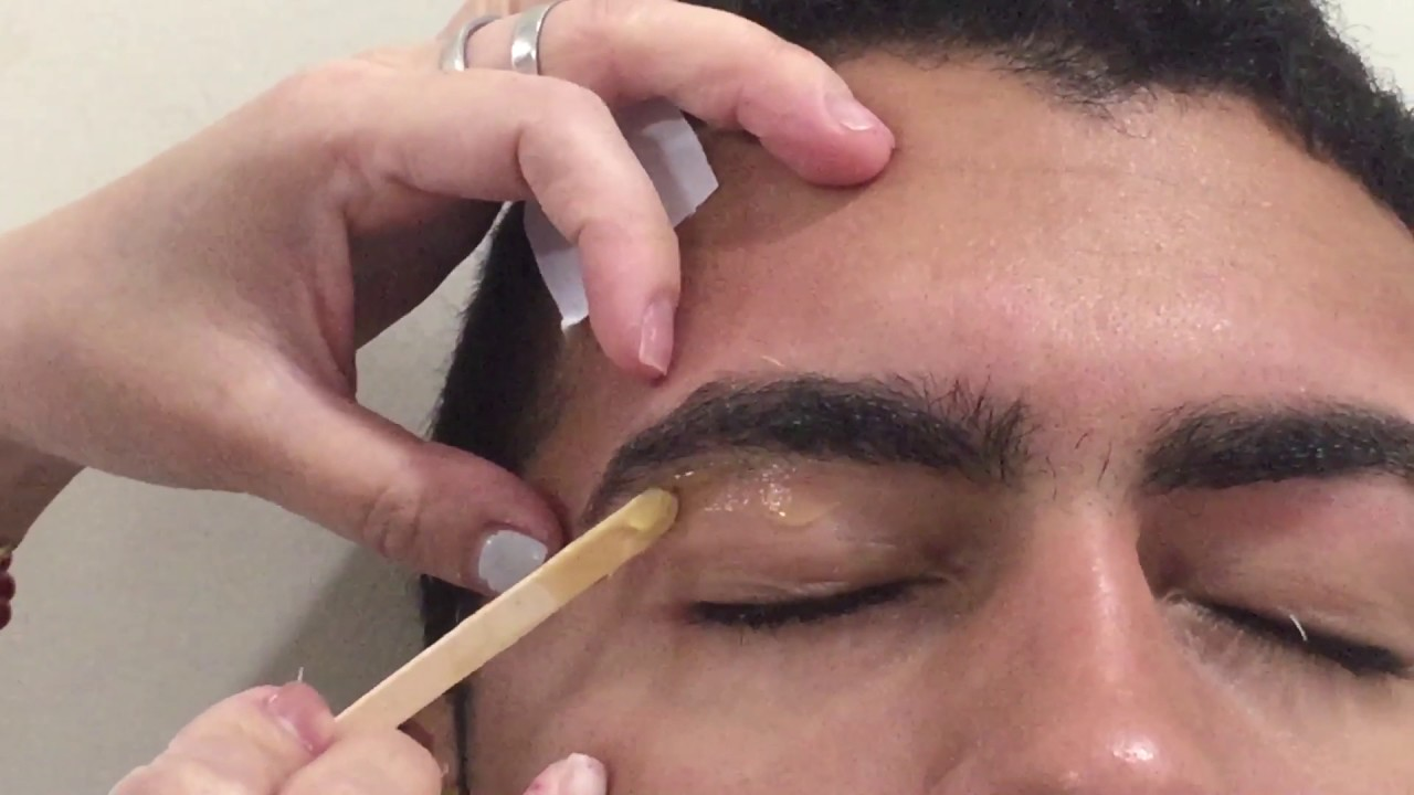 Man Eyebrow Waxing Youtube