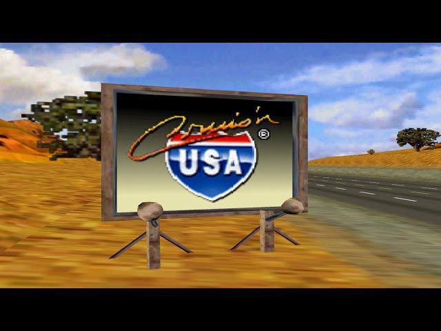 Nintendo 64 Longplay [051] Cruis'n USA