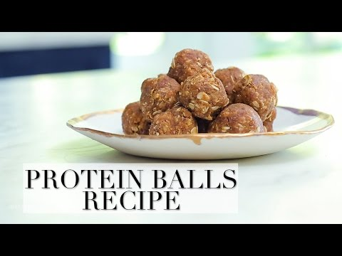 Easy Nutritious Snack: Almond Butter And Date Protein Balls Recipe