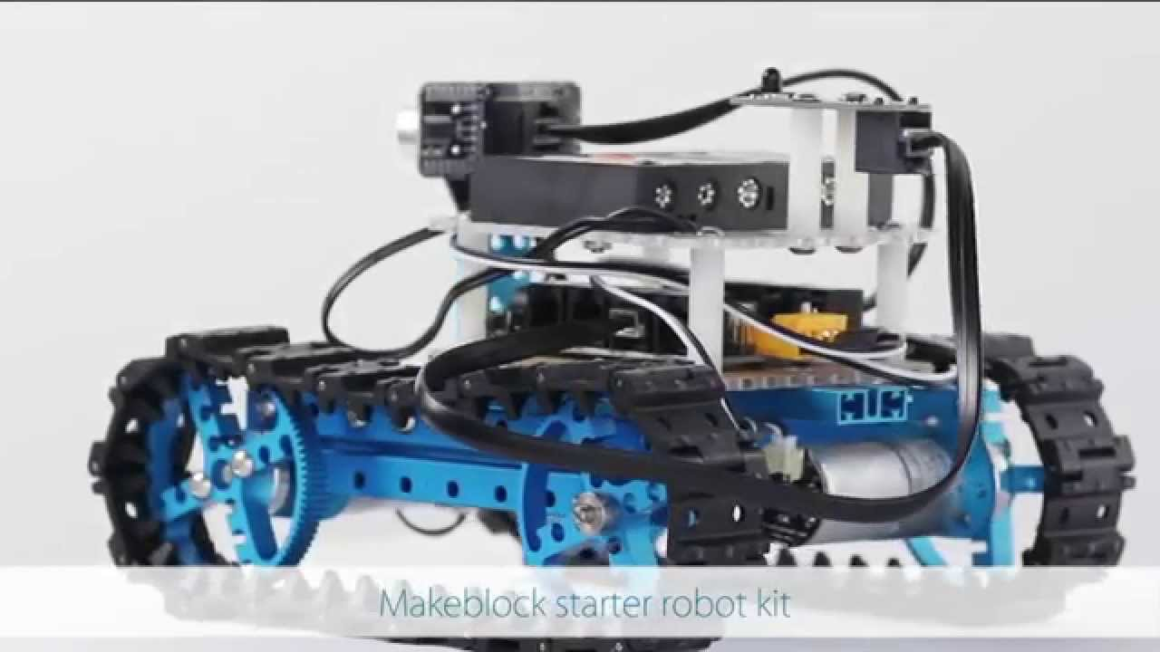 Makeblock Starter Robot Kit Your First Step To Arduino Sratch Details About Educational Electronics Circuit Manual And More Youtube