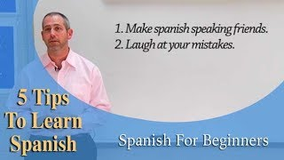 5 Tips To Make Learning Spanish Easier!! | Spanish For Beginners (Ep.19)