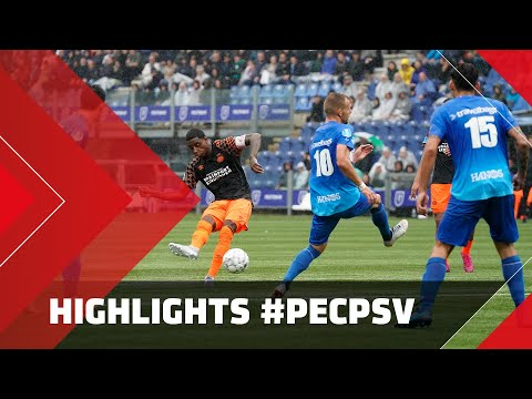 HIGHLIGHTS   PEC Zwolle - PSV