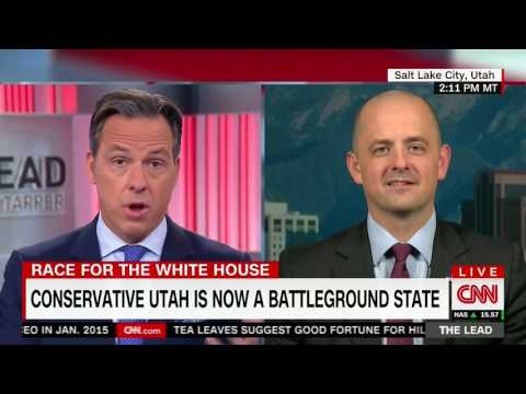 Evan McMullin on The Lead with Jake Tapper 10/21/16