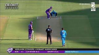 Adelaide Strikers vs. Hobart Hurricanes - 1st Inning Highlights