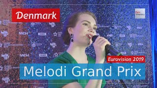 Denmark 2019: Leonora - Love Is Forever - LIVE performance @ Danish Melodi Grand Prix (Eurovision)