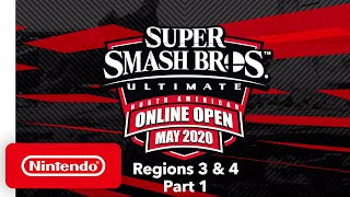 Super Smash Bros. Ultimate - NA Online Open May 2020 - Finals: Regions 3 & 4 - Part 1
