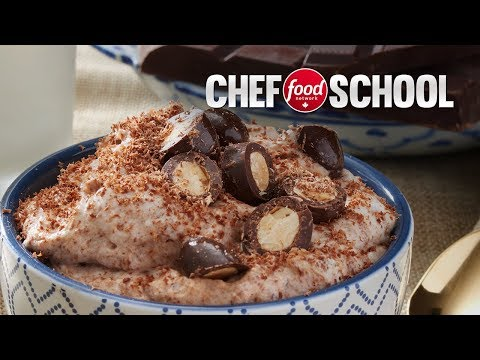 Lynn Crawford's Chocolate Almond Mousse | Chef School